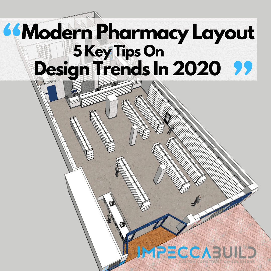 Modern Pharmacy Layout
