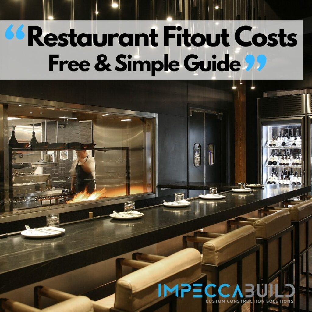 Restaurant Fit Out Costs | ImpeccaBuild