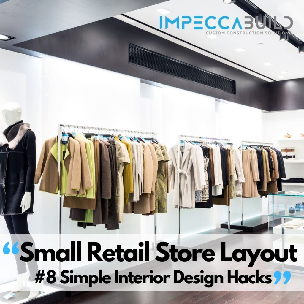 Small Retail Store Layout | ImpeccaBuild