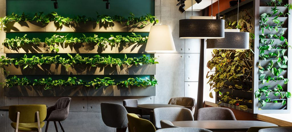 Cafe Theme Ideas | Indoor Garden Cafe Fitout | ImpeccaBuild
