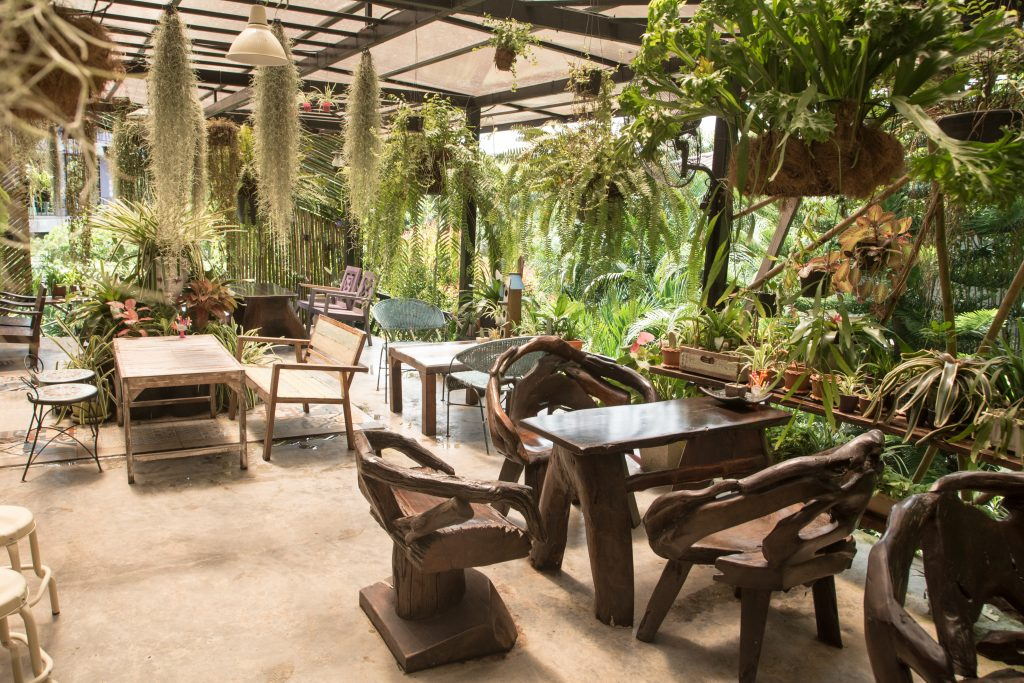 Cafe Theme Ideas | Tropical Cafe Fitout | ImpeccaBuild